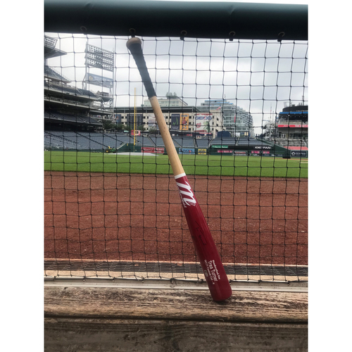 Photo of Autographed Trea Turner Bat