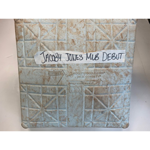 Photo of Game-Used Base: JaCoby Jones MLB Debut