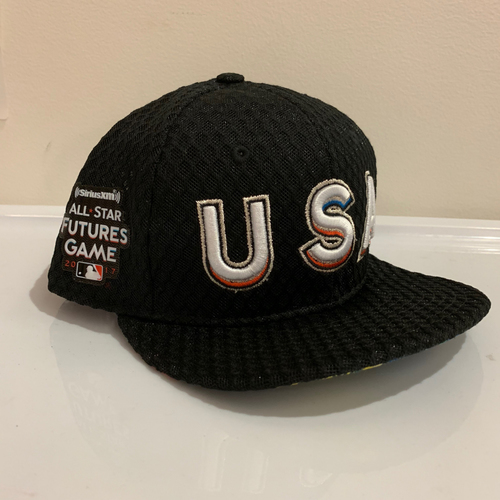 Photo of 2017 All Star Futures Game -  Game Used Cap  - Cliff Floyd (Team USA) Size - 7 -3/8