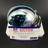 Panthers - Mario Addison Signed Mini Helmet