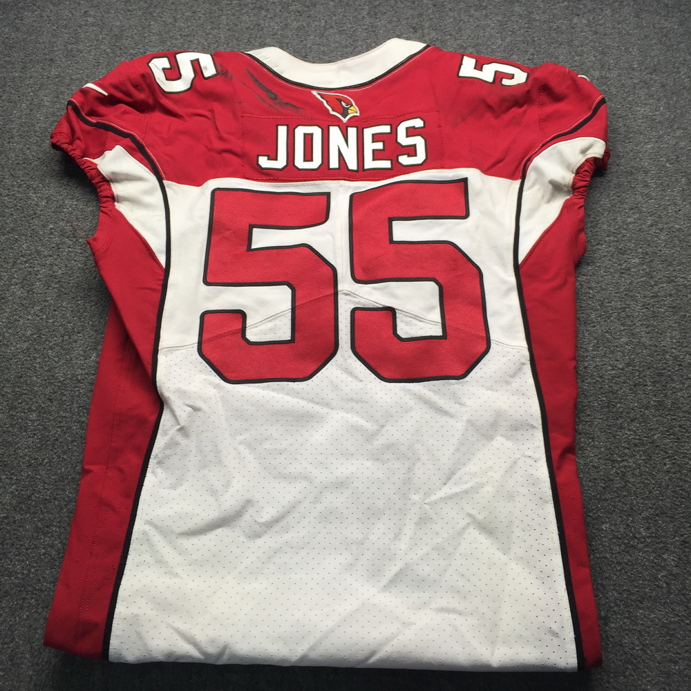 NFL Auction | Crucial Catch - Cardinals Chandler Jones Game Used ...