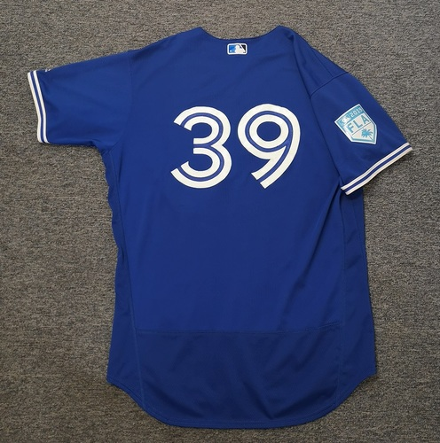 Photo of Authenticated Game Used 2019 Spring Training Jersey - #39 Dave Hudgens (Mar 26). Size 48