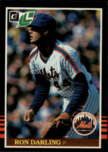 Photo of 1985 Leaf/Donruss #256 Ron Darling