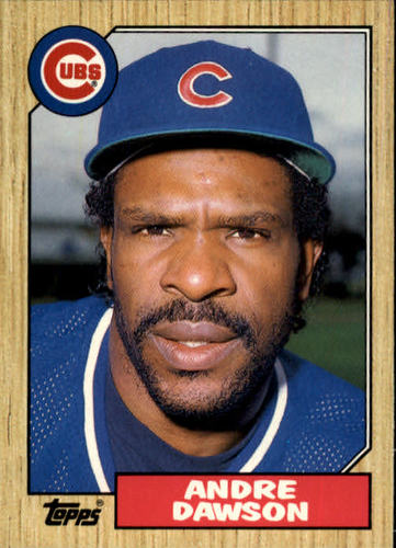 Photo of 1987 Topps Traded #27T Andre Dawson
