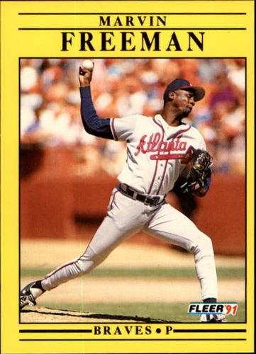 Photo of 1991 Fleer Update #73 Marvin Freeman