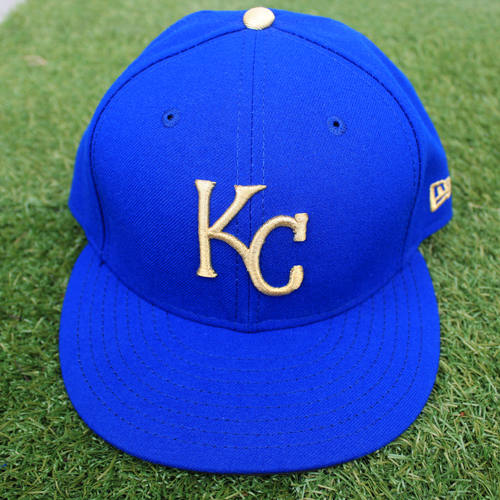 Photo of Game-Used Cap: Pedro Grifol (Size 7 3/8 - MIN @ KC - 9/27/19)