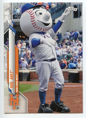 Photo of 2020 Topps Opening Day Mascots #M3 Mr. Met