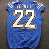 Chargers - Jason Verrett Game Issued Jersey Size 40