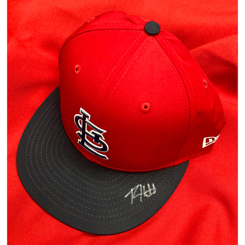 Photo of Ryan Helsley Autographed Replica Batting Practice Cap (Size 7 1/2)