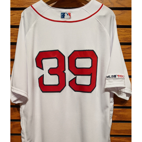 Photo of Carson Smith #39 Team Issued Home White Jersey