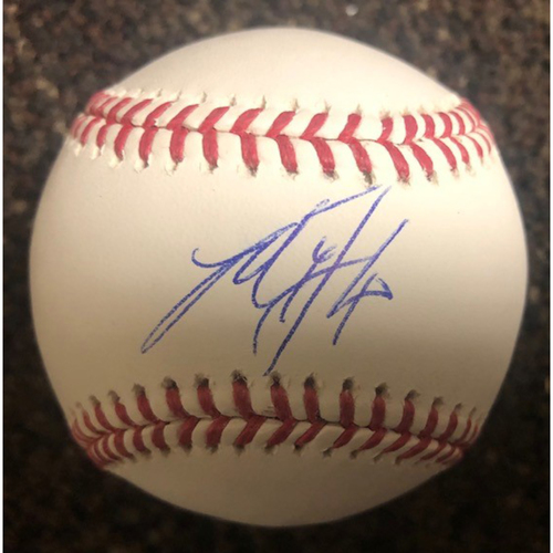 Photo of Madison Bumgarner Autographed Baseball