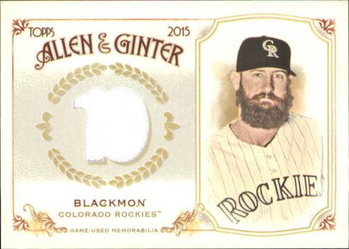 Photo of 2015 Topps Allen and Ginter Relics #FSRBCBL Charlie Blackmon B