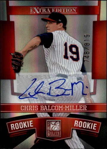 Photo of 2010 Donruss Elite Extra Edition #158 Chris Balcom-Miller AU/819