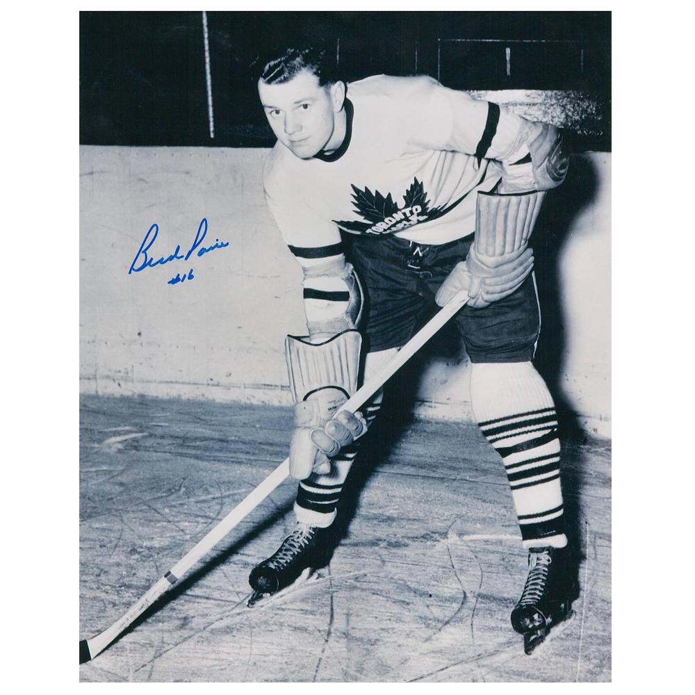 BUD POILE Signed Toronto Maple Leafs 8 X 10 Photo - 70158