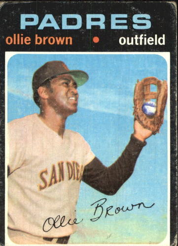Photo of 1971 Topps #505 Ollie Brown