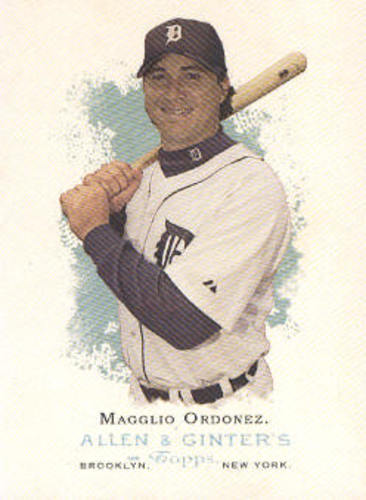 Photo of 2006 Topps Allen and Ginter #76 Magglio Ordonez
