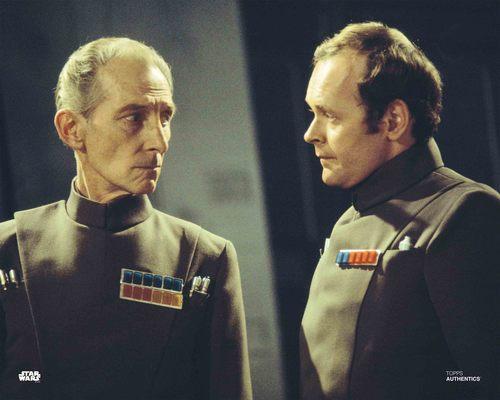 Grand Moff Tarkin and Admiral Motti