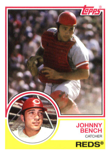 Photo of 2015 Topps Archives #202 Johnny Bench