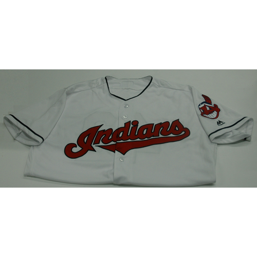 Photo of Cleveland Indians Roberto Perez 2017 Game Used Jersey - 4/15/17 vs. Tigers