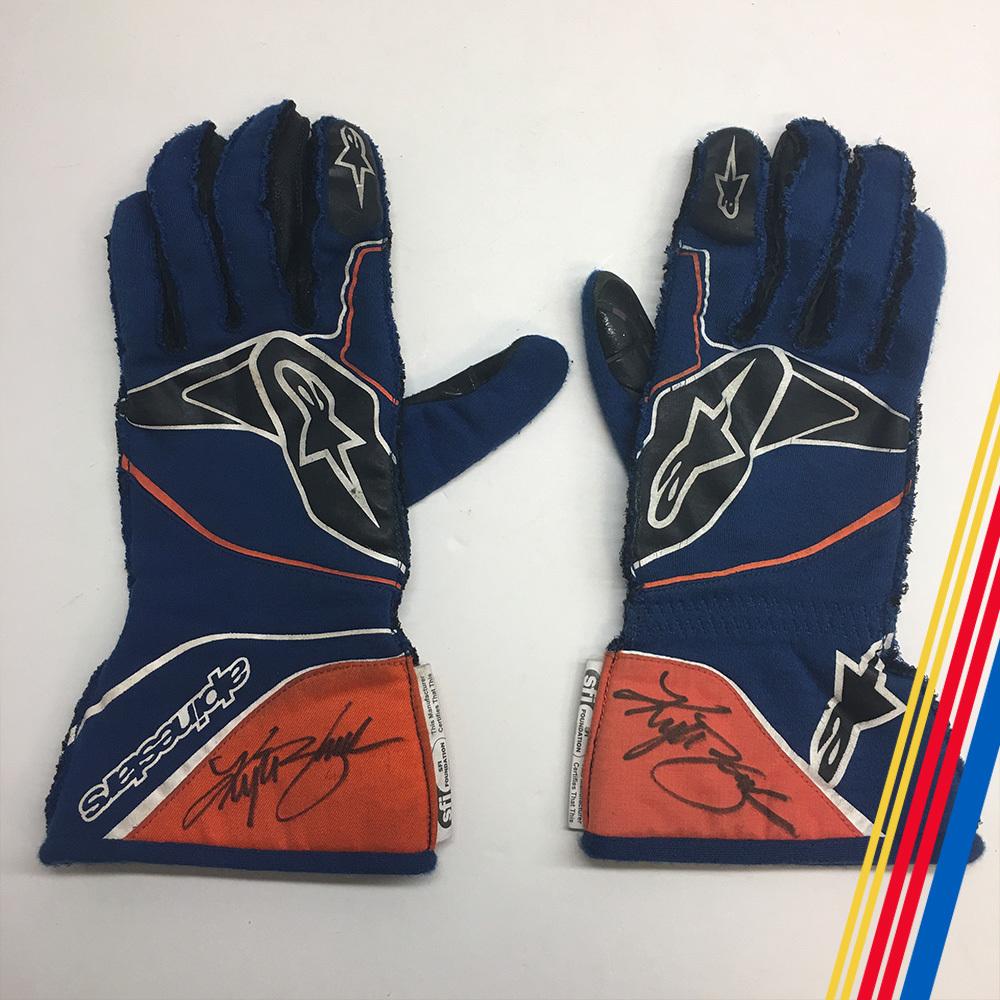 NASCAR's Kyle Busch Autographed gloves!