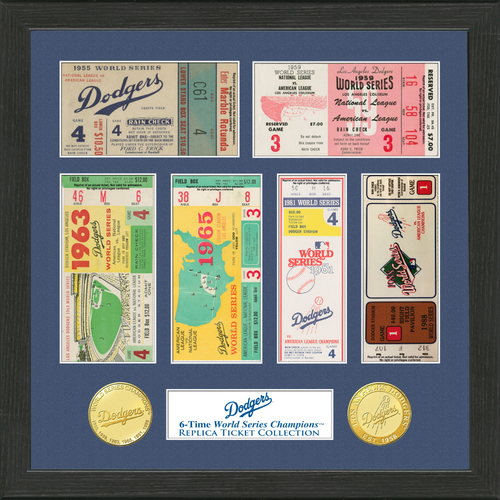 Photo of Los Angeles Dodgers World Series Ticket Collection