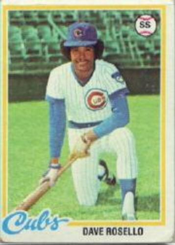 Photo of 1978 Topps #423 Dave Rosello