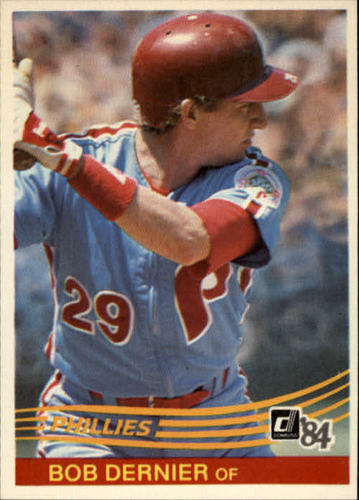 Photo of 1984 Donruss #541 Bob Dernier