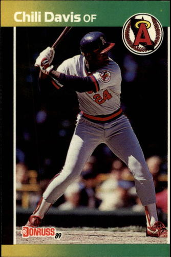 Photo of 1989 Donruss #449 Chili Davis