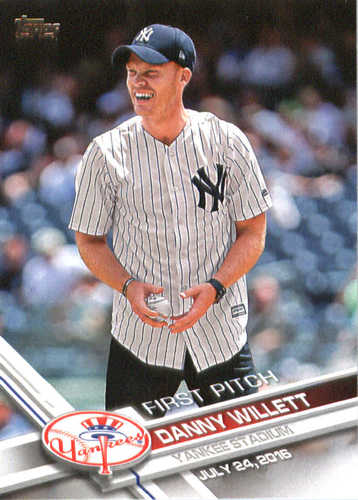 Photo of 2017 Topps First Pitch #FP39 Danny Willett