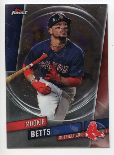 Photo of 2019 Finest #1 Mookie Betts