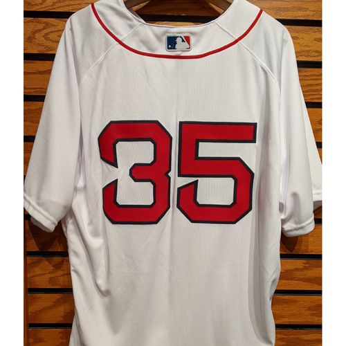 Steven Wright #35 Team Issued Home White Jersey