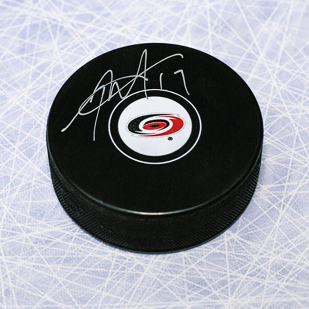Rod Brind'Amour Carolina Hurricanes Autographed Hockey Puck
