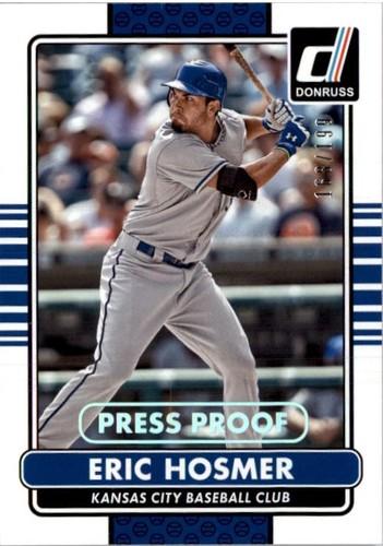 Photo of 2015 Donruss Press Proofs Silver #95 Eric Hosmer