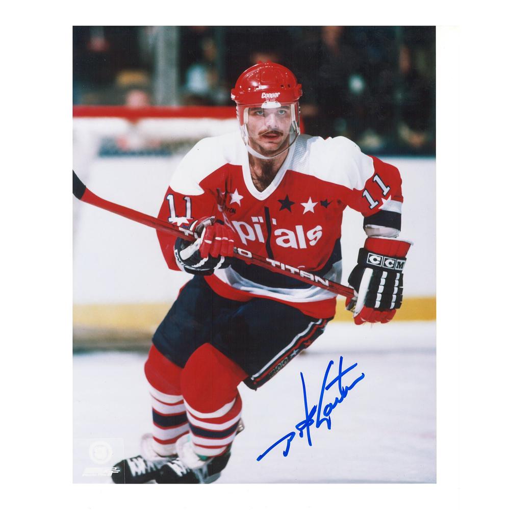 MIKE GARTNER Signed Washington Capitals 8 X 10 Photo - 70159