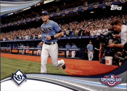 Photo of 2017 Topps Opening Day Opening Day #ODB2 Tampa Bay Rays