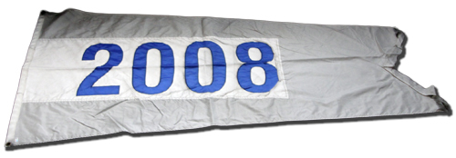 Wrigley Field Collection -- Rooftop Flag -- 2008