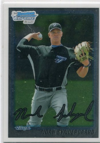 Photo of 2010 Bowman Chrome Draft Prospects #BDPP75 Noah Syndergaard Pre-Rookie Card