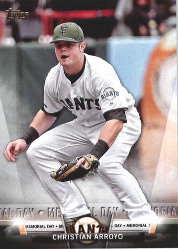 Photo of 2018 Topps Salute #TS58 Christian Arroyo