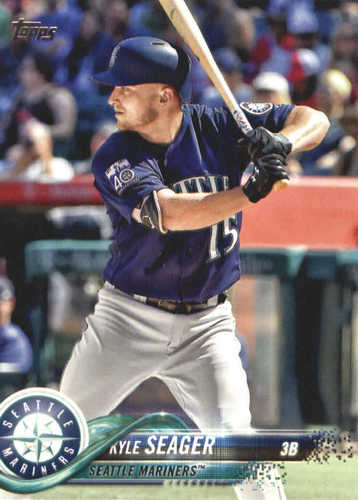 Photo of 2018 Topps #454 Kyle Seager