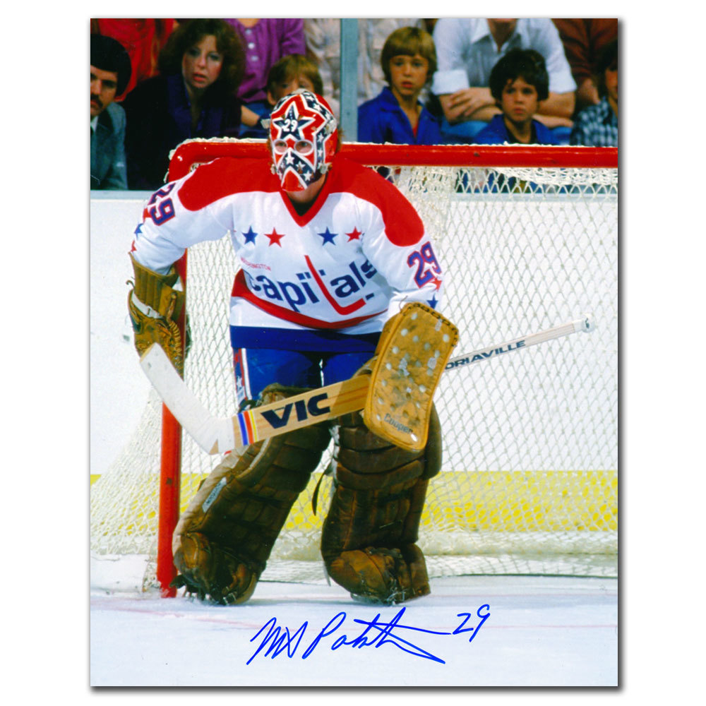 Mike Palmateer Washington Capitals Autographed 8x10