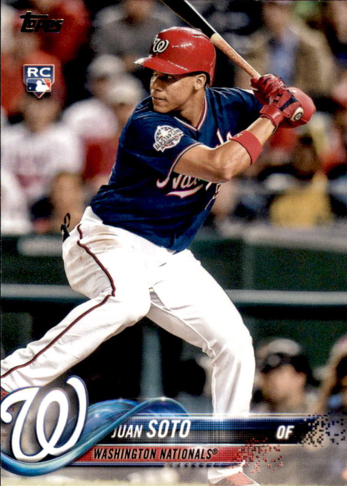2018 Topps Update #US300 Juan Soto Rookie Card