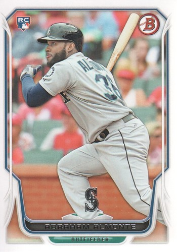 Photo of 2014 Bowman #44 Abraham Almonte Rookie Card