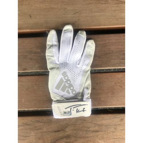 Photo of Autographed Trea Turner Right Batting Glove