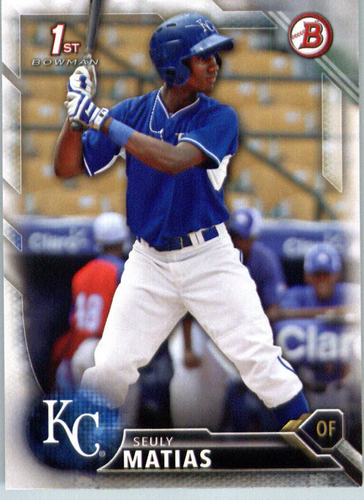 Photo of 2016 Bowman Prospects #BP15 Seuly Matias
