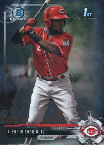 Photo of 2017 Bowman Chrome Prospects #BCP94 Alfredo Rodriguez