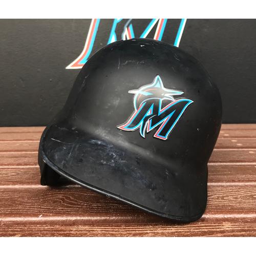 Photo of Game-Used Helmet: Pablo Lopez - Size: 7 1/8