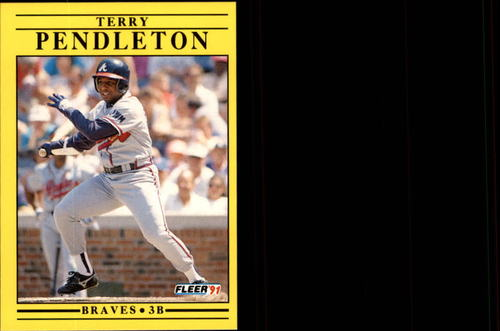 Photo of 1991 Fleer Update #76 Terry Pendleton