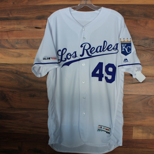 Photo of Team-Issued Jersey: Heath Fillmyer (Size 46)