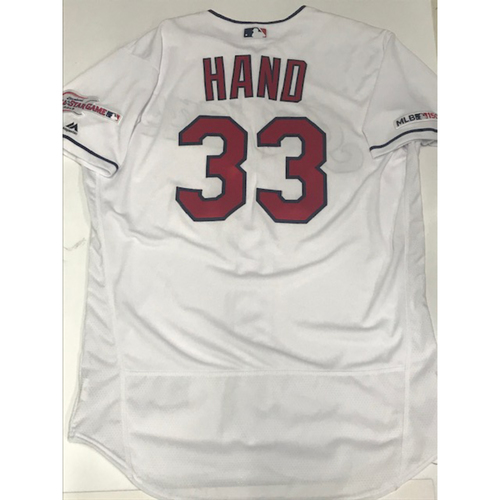 Photo of Brad Hand Team Issued 2019 Home Jersey