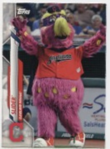 Photo of 2020 Topps Opening Day Mascots #M12 Slider